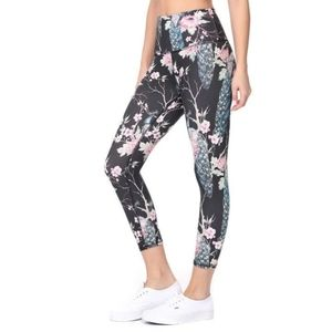 Evolution and Creation Small Black Pink Leggings
